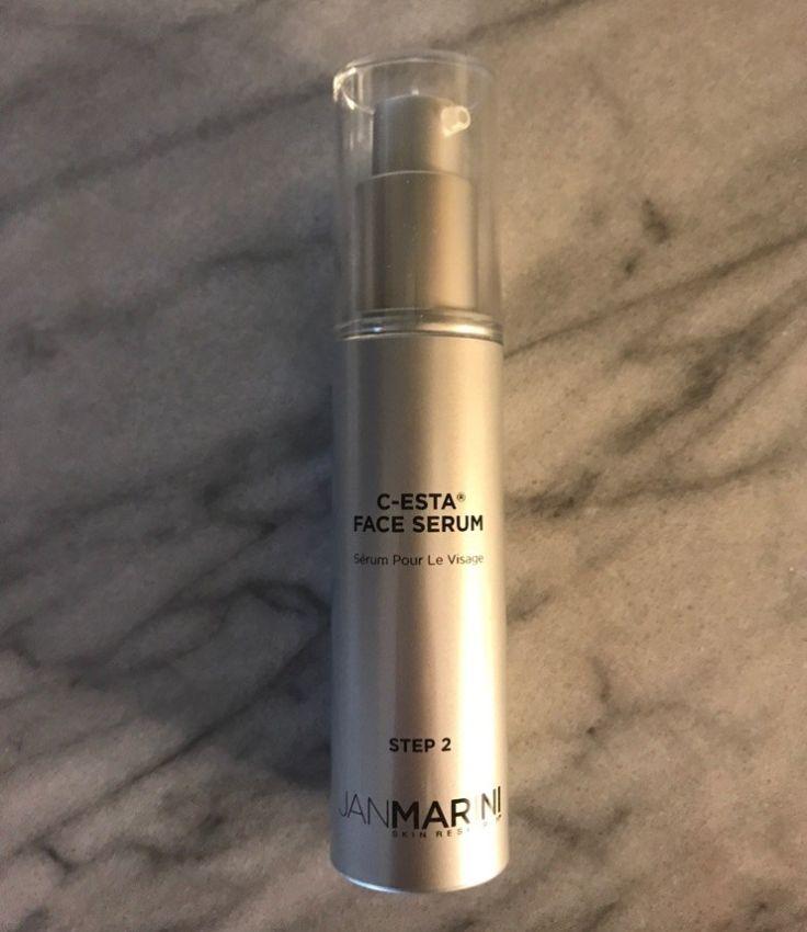 Jan Marini C-ESTA® Serum is perfect for all skin types and helped with my hyperpigmentation, skin resurfacing and firmness. #cestaserum  #janmarini  #rejuvenate  #vitaminc