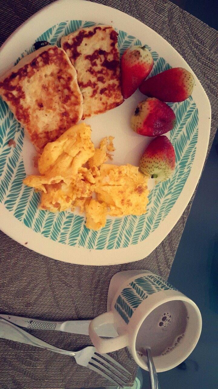 Desayuno post entrenamiento