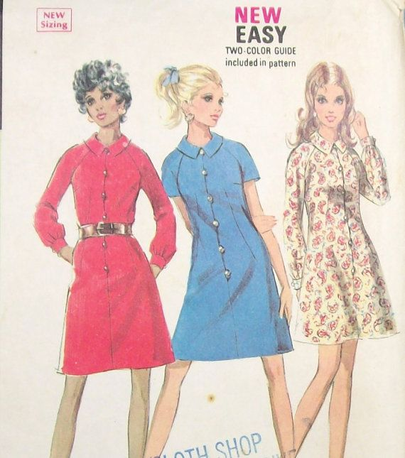 41 best Vintage Sewing Patterns at Eight Mile Vintage on Etsy images ...