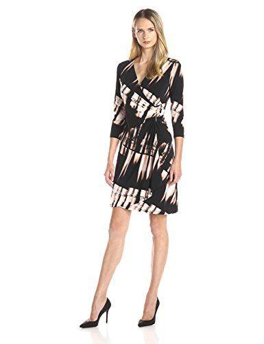 Calvin Klein Women's Long-Sleeve Faux…