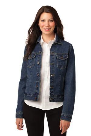 Port Authority L7620 - Ladies Denim Jacket #denimjacket #womensfashion
