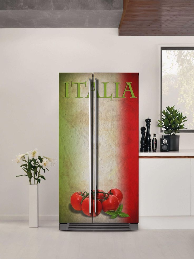 Εμπνευστείτε...Γεύσεις από την Ιταλία!  Αυτοκόλλητο ψυγείου: http://www.houseart.gr/select_use.php?id=301&pid=8834