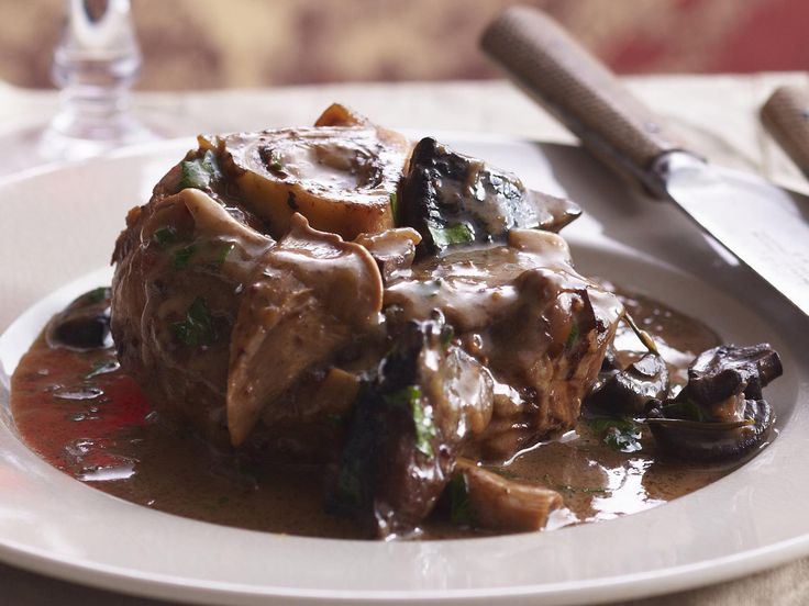 Italian-style slow-cooked osso bucco that will melt in your mouth.
