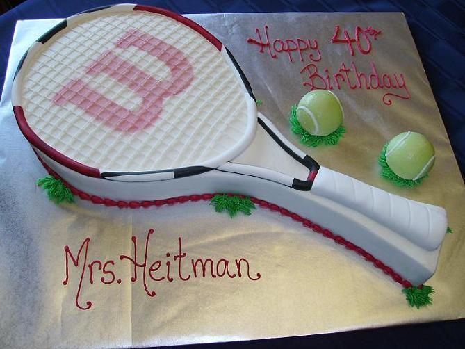 Tennis Birthday Cake Cakes Group Picture Image By Tag Keywordpictures