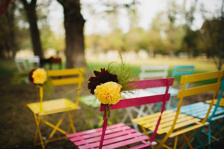 Charlie & Jenko Wedding | Wedding Florals | Wedding Ceremony | Contemporary Flowers | Modern Wedding | Outdoor Wedding |