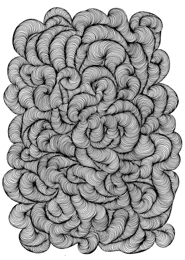 doodle drawings en masse- blog/tech element
