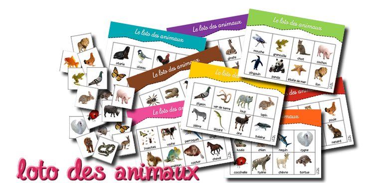 [ jeu à imprimer ] les lotos vocabulaire – Cycle 1 | livres pour la classe Cycle 1 Cycle 2 Cycle 3