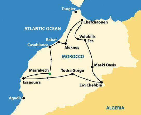 sahara desert in morocco map - Google Search | MOROCCO | Photography ...
