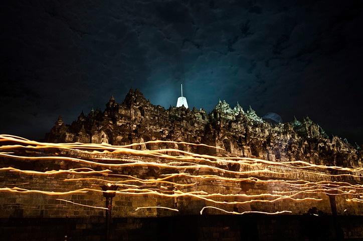 Temple Borobudur, Magelang, Indonésie
