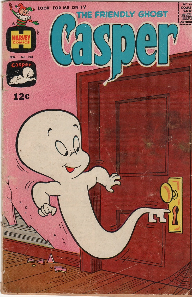 → The Friendly Ghost Casper #126 Harvey 1969