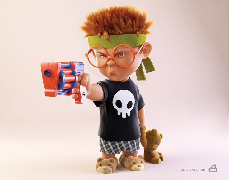 Bad Kid by Emerson3D 1920px X 1512px