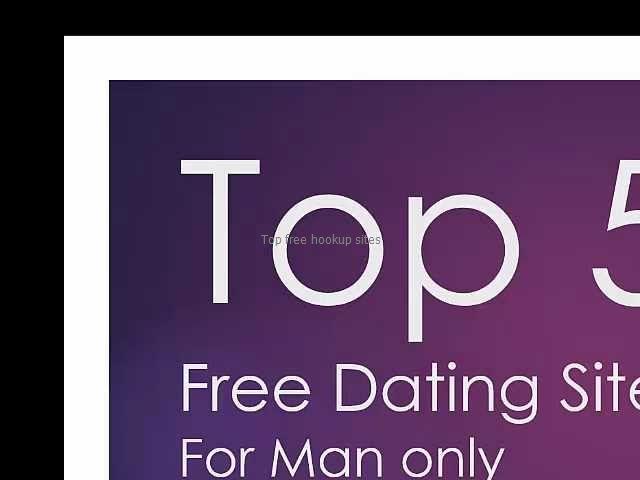 Top free hookup sites