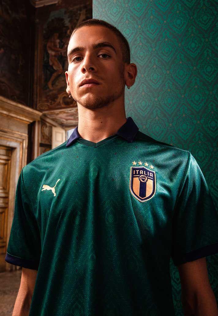 Puma Italy Renaissance Third Kit 2019 20 Superfanatix Italy National Football Team Soccer Jersey Italy Soccer