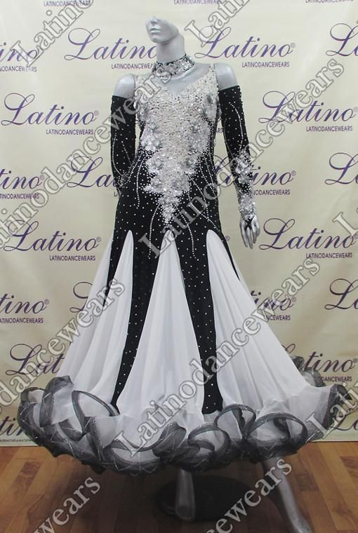 BALLROOM COMPETITION DRESS LDW (SS46B) BALLROOM-COMPETITION-DRESS-LDW-SS46B Latino Dancewears