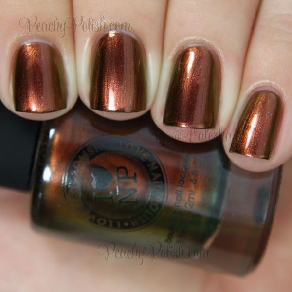 Copper: #Copper nails ~ I Love Nail Polish Abundance | Fall 2014 Collection | Peachy Polish.
