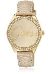 Guess W0229L4 Gold Tone/Champagne Analog Watch Online Shopping Store