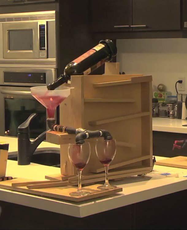 Une machine de Rube Goldberg pour les amoureux pour la Saint Valentin ? | Ufunk.net