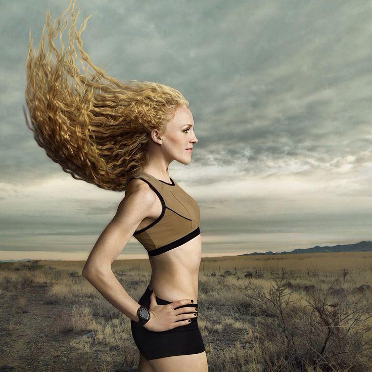 Υπέροχα μαλλιά ακόμα και όταν τρέχεις!  (photo © Hennessy Reps Inc.)