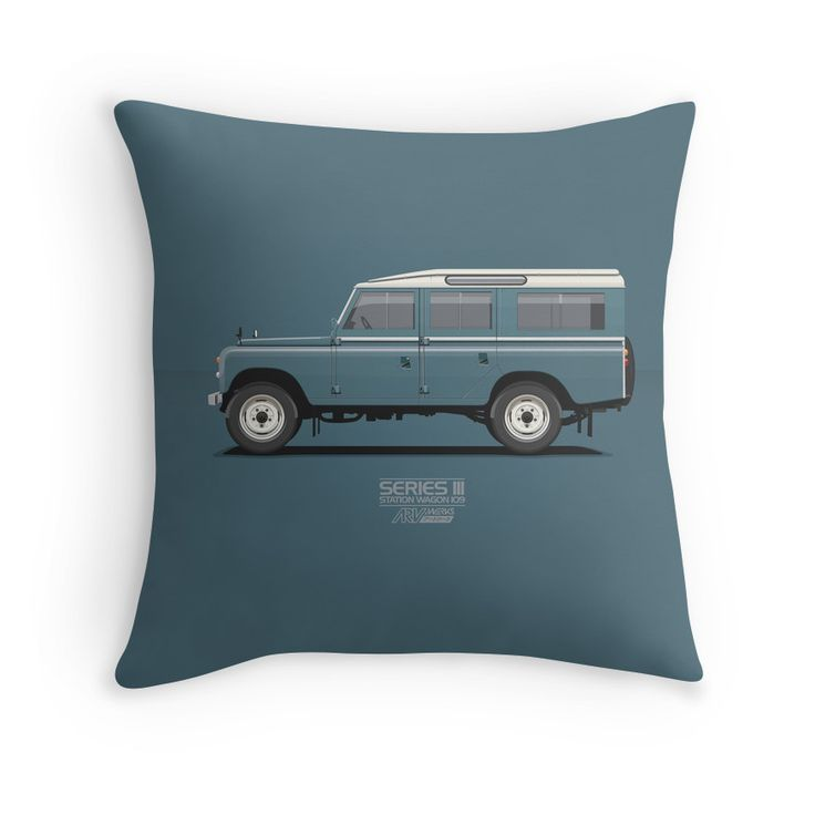 Series 3 Station Wagon 109 Marine Blue  #landrover #blue #series3 #redbubble #vector #carart #vintage #classic #lwb # long #landrover109 #landroverseries #car #ARVwerks