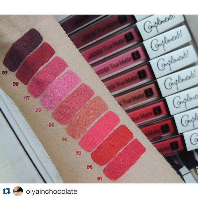 #Repost @olyainchocolate with @repostapp. ・・・ Все 9 оттенков  Relouis Complimenti True Matte   #relouislips #relouis #релуи #relouiscomplimenti  #матоваяпомада #mattelips #помада #lips #beauty #instabeauty #belinsta #minskbeauty #bbloggers  #beautyblogger #vscominsk #vscobelarus  #makeupinspiration #lipswatch #beauty #instamakeup  #olyainchocolate_lips  #fotd #motd #instamakeup  #instalips #ilovemakeup #makeupaddict #свотчикосметики  #favot