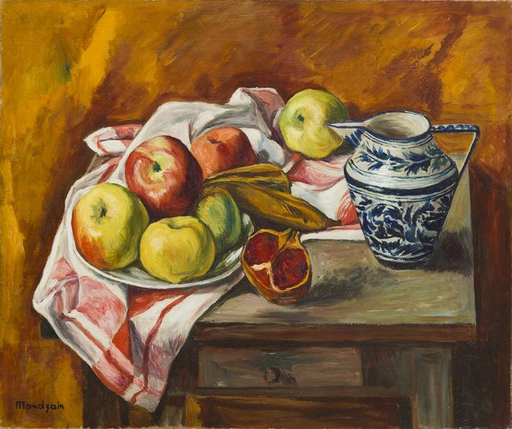 Szymon (Szamaj) Mondzain (Mondszajn) - Martwa natura z owocami