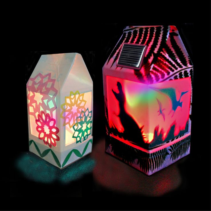Solar Lantern - Full Color LED version