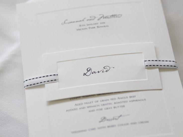 ► Invitaciones de boda de Papier D'Amour. #invitaciones #bodas