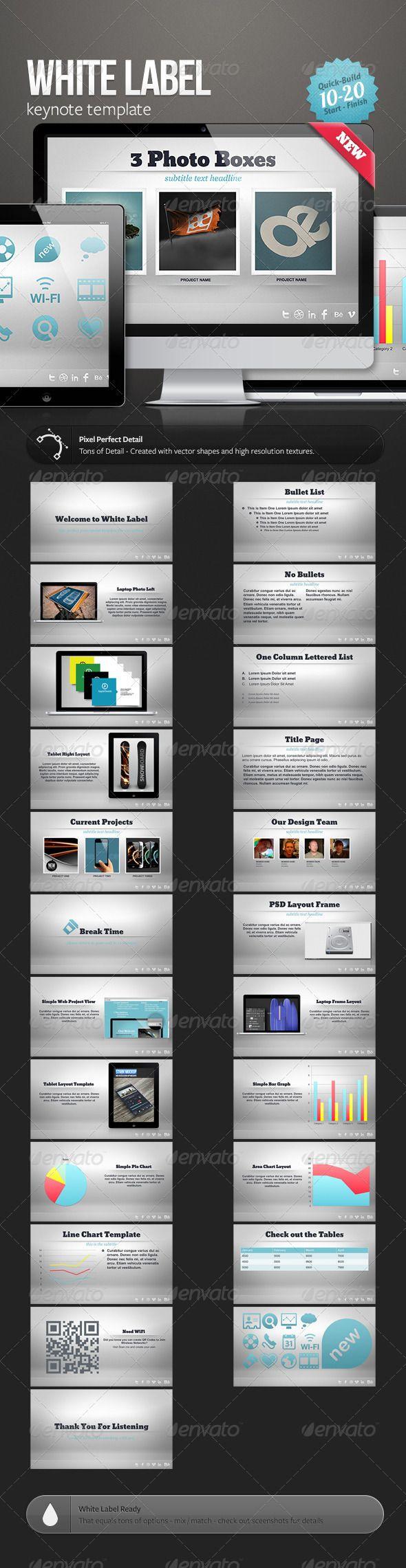 Best Keynote Templates Images On   Presentation