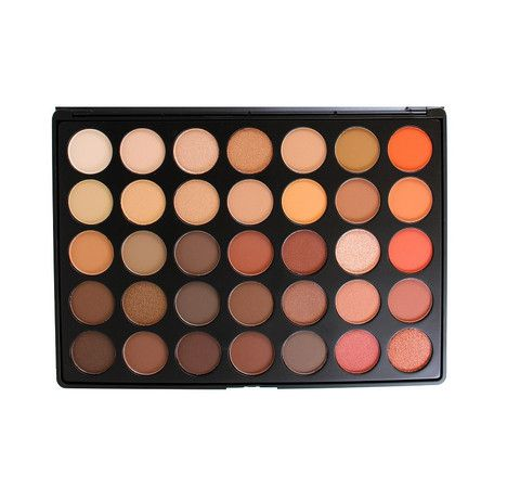 35O - 35 COLOR NATURE GLOW EYESHADOW PALETTE   http://morphebrushes.com/collections/pro-makeup-palettes/products/35o