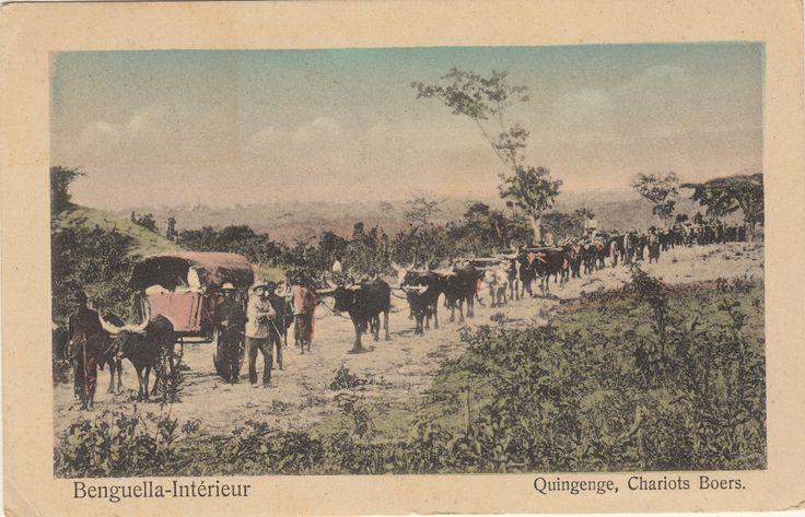 Dorsland Boere Angola. Benguella