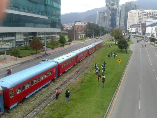 Fin del paseo Tren De La Sabana