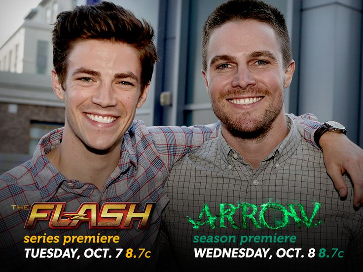 Get ready for twice the hero action! #TheFlash joins The CW roster alongside #Arrow for this week's #ManCrushMonday!