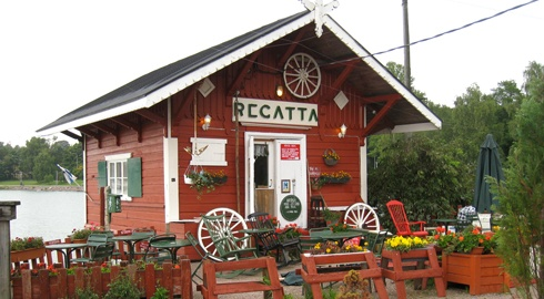 Cafe Regatta, cutest place to have coffee by the sea in Helsinki, Finland