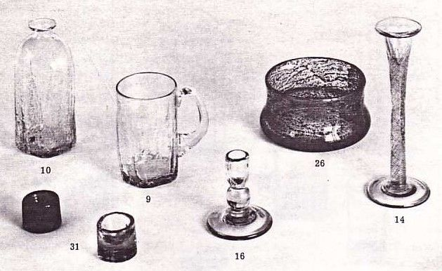 effie-graa.com. Various glass objects, Benny Motzfeldt, PLUS, 1970s