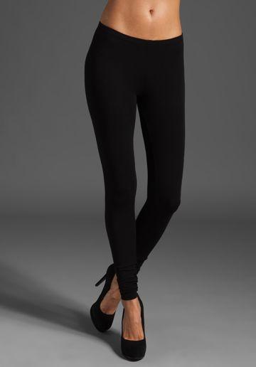 Splendid Modal Lycra Legging in Black