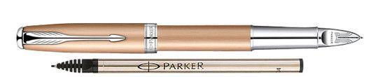 Parker Sonnet Feminine Rose Gold w/ Chrome - Free Ink Refill