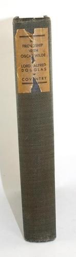 My Friendship with Oscar Wilde Lord Alfred Douglas 1932 Autobiography Book $29.99 Free Shipping