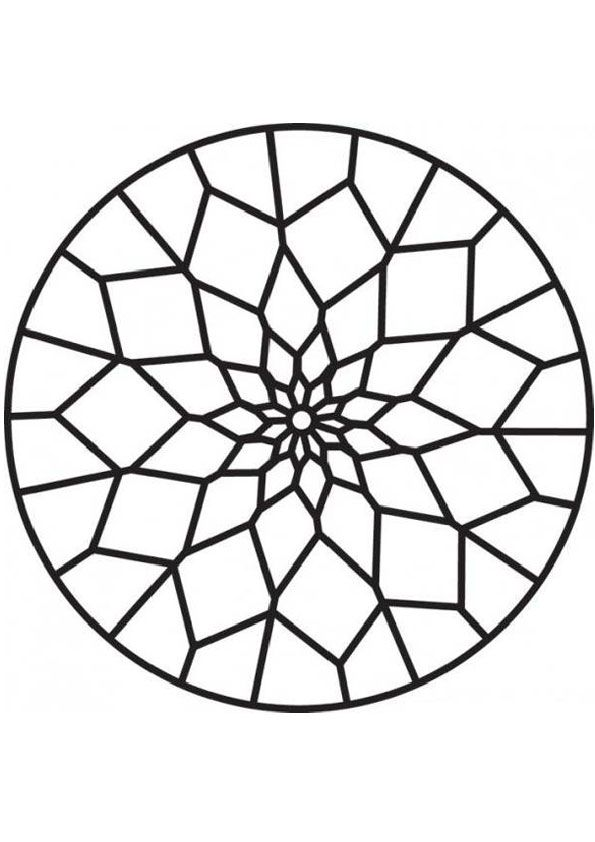 Pattern Coloring Pages Pattern Coloring Pages Stained Glass Patterns Geometric Coloring Pages