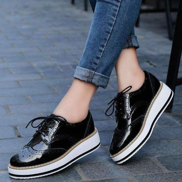 0c0bd393d1ec Womens Creepers Women Oxford Shoes