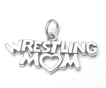 16 best wrestling fans wrestling jewelry and wrestling charms wrestling mom sterling silver charm wrestling by jsueselling aloadofball Image collections