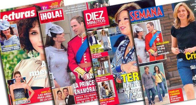 """""""Lee revistas de corazón"""" (cap 1 p7) Eso recordé mi de revista de people, todo revista pasear tiempo. Margarita está ocupado como simpre"""