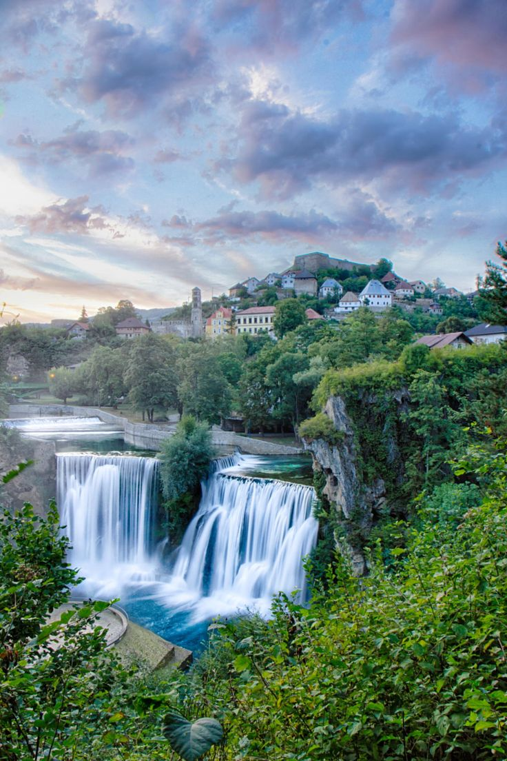 The beautiful Jajce Fortress at Jajce, Bosnia and Herzegovina, by Emir Terovic and Matthew Craike