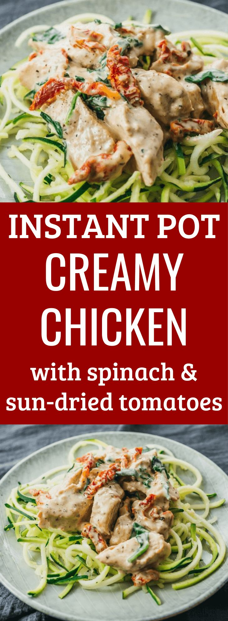 This is one of my favorite simple Instant Pot chicken recipes! It has a rich and…