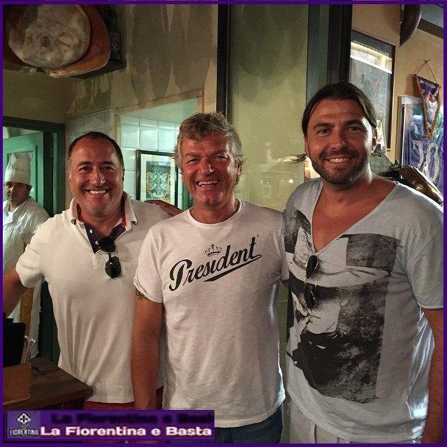 Frey con Giancarlo Antognoni