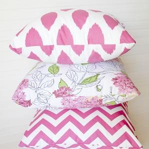 Pink 'Bridgehampton' Cushion by Hamptons Style