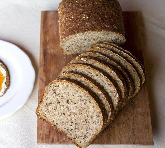 receta pan con semillas
