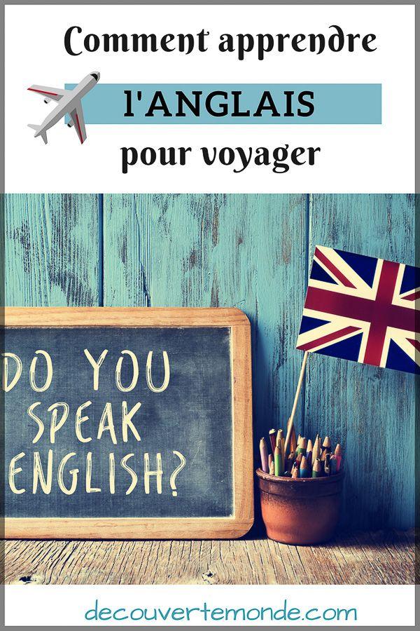 Remark apprendre l'anglais pour voyager : Mes différentes astuces
