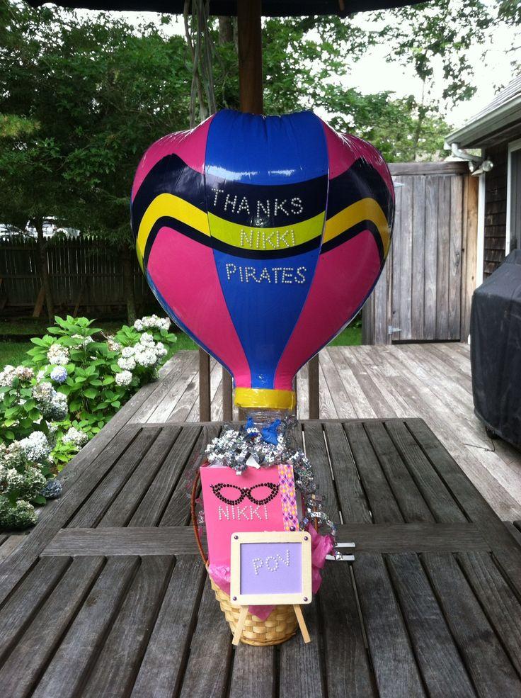 hot air balloon basket dc candy drops llc pinterest air