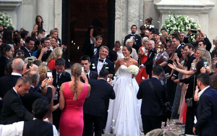 Fotos - Schweinsteiger e Ana Ivanovic casam-se em Veneza