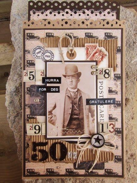 min lille scrappe-verden: Vintage Udfordring #86